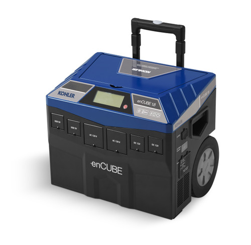 Kohler enCUBE1.8 1440W Solar Recharging Indoor/Outdoor Portable Inverter Generator