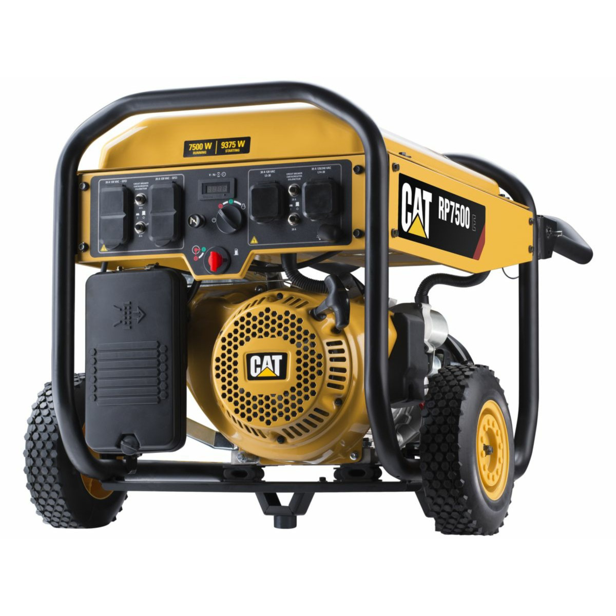 CAT RP7500E 7500W Electric Start Portable Generator