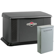 Briggs & Stratton 40484 20kW Generator with Aluminum enclosure and 150A SE Transfer Switch