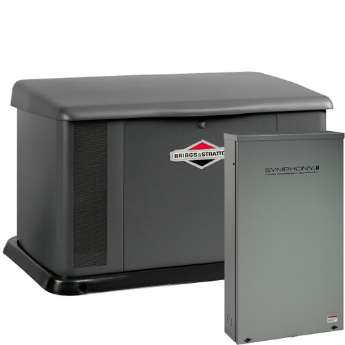 Briggs & Stratton 40396 20kW Generator with Aluminum Enclosure and Dual 200A SE Transfer Switch