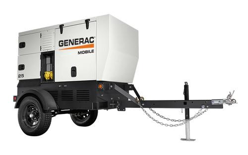 Generac MDG25IF4 20/21kW Mobile Diesel Generator with Isuzu Engine