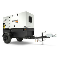 Generac MMG35DF4 27/29kW Mobile Diesel Generator with Isuzu Engine