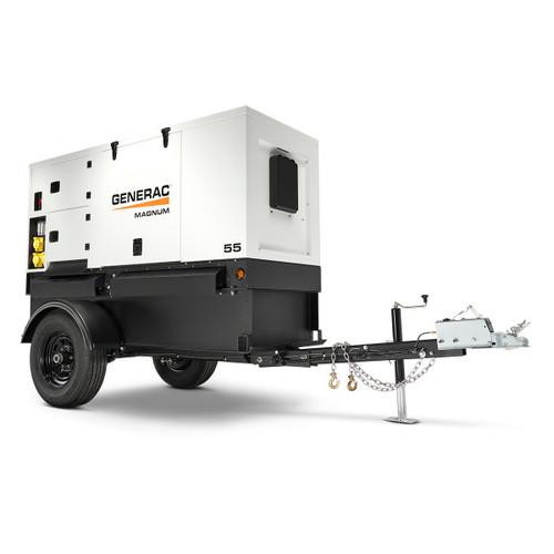 Generac MMG55DF4 42/44kW Mobile Diesel Generator with John Deere Engine
