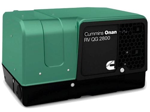 Cummins Onan 2 8HGJBB 1120 QG 2800W Gasoline RV Generator