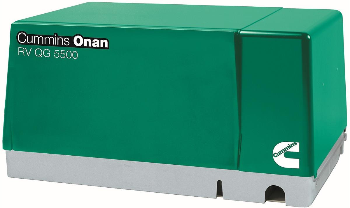 Cummins Onan 5 5HGJAB-1038 QG 5500W Gasoline RV Generator