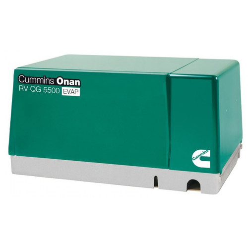 Cummins Onan 5.5HGJAB-6755 QG 5500W EVAP Gasoline RV Generator