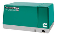 Cummins Onan 5.5HGJAA-600 QG 5500W EFI Gasoline RV Generator