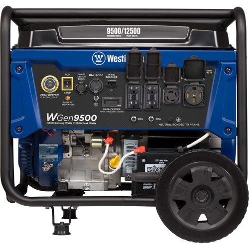 Westinghouse WGen9500 9500W Electric Start Portable Generator with Wireless Remote Start