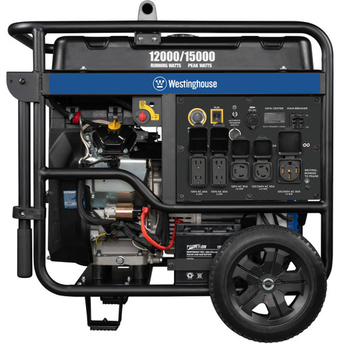 Westinghouse WGen12000 12000W Electric Start Portable Generator with Wireless Remote Start