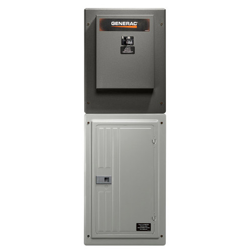 Generac RXG24SHA1 100A 1ph-120/240V Service Rated Nema 1 Automatic Transfer Switch with 24-circuit Load Center