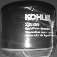 Kohler 225259 Fuel/Water Separator Filter