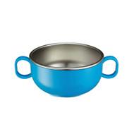 Din Din SMART Stainless Starter Bowl - Blue