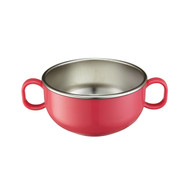 Din Din SMART Stainless Starter Bowl - Pink