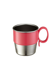 Din Din SMART Stainless Cup - Pink