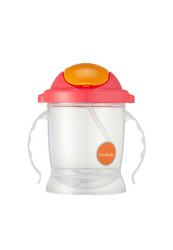 Sippin' SMART EZ Flow Straw Sippy - Pink