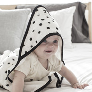 Dono&Dono Hooded Cotton Muslin Towel for Infants and Babies (Various Patterns)