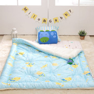 """Toddler Cotton Quilted Comforter 41""""x51"""""""