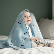 Little Fennec Cozy Flannel Cuddle Blanket (Various Patterns)