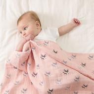 Little Fennec Versatile Muslin Cuddle Blanket (Various Patterns)