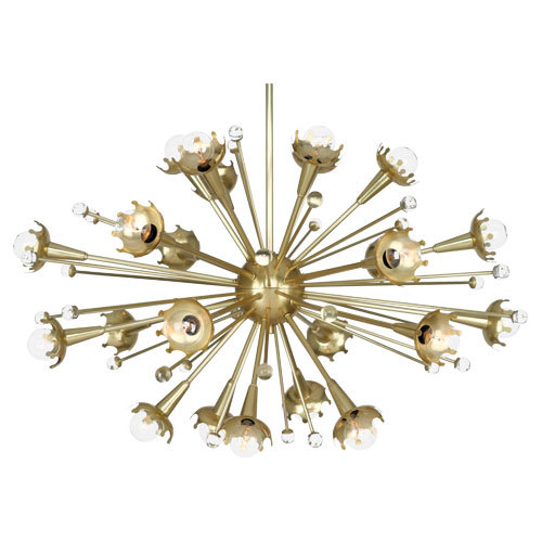 Robert Abbey Jonathon Adler Sputnik Chandelier=-Regular