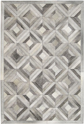 Grey Hide Patchwork