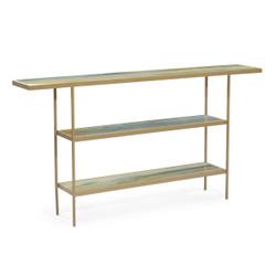 Austin A. James' Concord Three-Tier Sofa Table