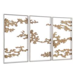 Set of Three Aperture Wall Panels