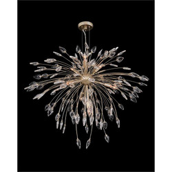 Reveille: Crystal Constellation Seven-Light Pendant Chandelier