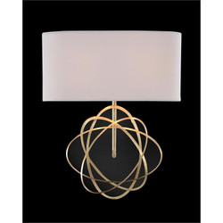 Layered Acrylic Two-Light Wall Sconce