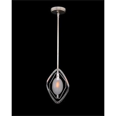 Faceted Glass Single-Light Pendant
