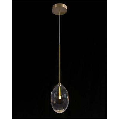 Echo: Glass Globe Single Droplight