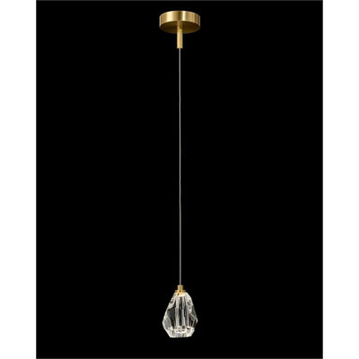 Faceted Chunk Crystal Single Droplight
