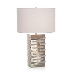 Acrylic Blocks Illuminating Table Lamp