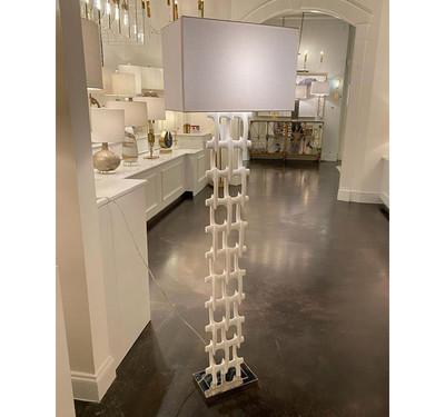Floor Lamp in White