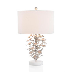 Nickel-Plated Table Lamp
