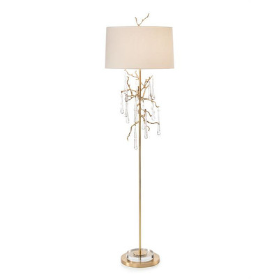 Crystal Drip Floor Lamp