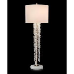 Cascading Crystal Waterfall Buffet Lamp
