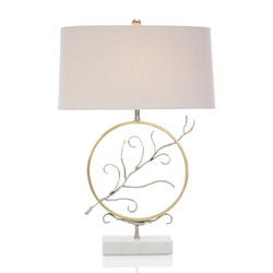 Encircled Branch Table Lamp