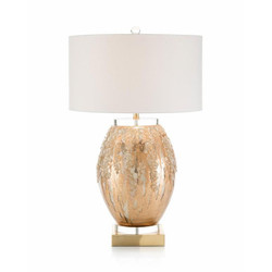 Ethereal Silvered Table Lamp