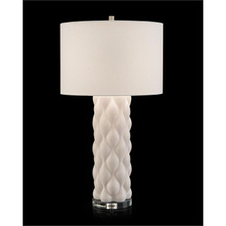 Billowy Textured Table Lamp