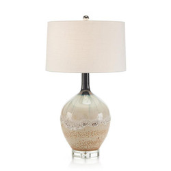 Sea and Surf Ceramic Table Lamp