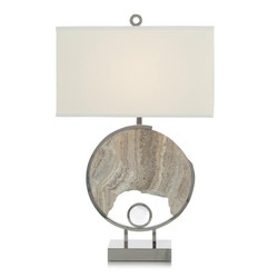 Grey Marble Galaxy Table Lamp