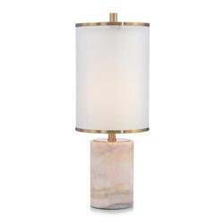 Rosé Stone Table Lamp