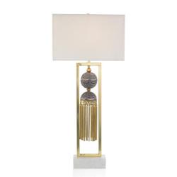 Braided Tassel Table Lamp