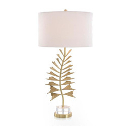 Fishtail Palm Table Lamp