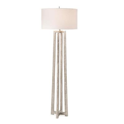 Nickel-Plated Floor Lamp