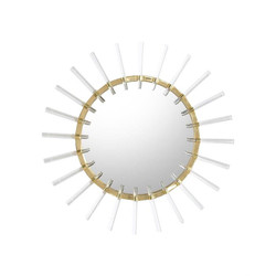 Cloe Mirror in Brass