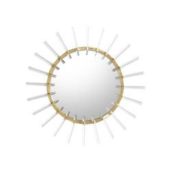 Cloe Mirror in Brass