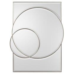 Equinox Mirror in Pewter Silver