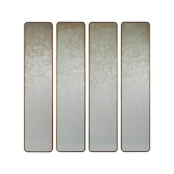 Set of Four Pastelle Wall Panels
